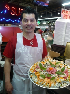 Andys sushi robert wholey company for Wholey s fish market